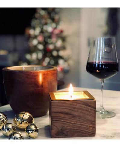 Svíčka Rewined Barrel Aged Wine Under The Tree - square
