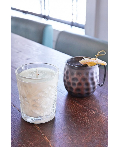 Rewined Candle Cocktail Moscow Mule in drinking glass