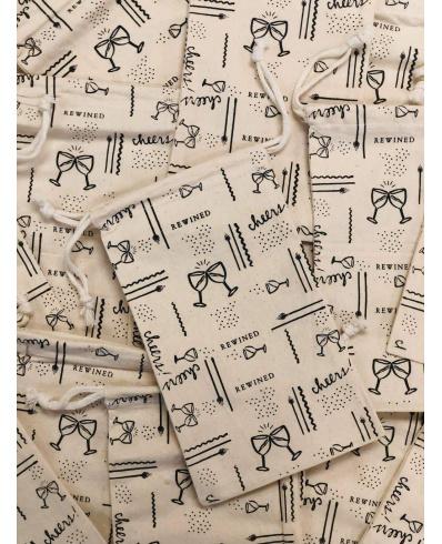 Vintage látkový sáček